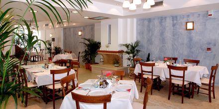 Restaurang på hotell Summer Dream i Rethymnon på Kreta.