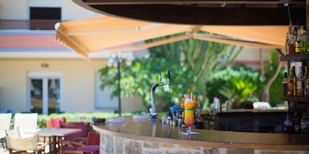 Bar på hotell Summer Dream i Rethymnon på Kreta.