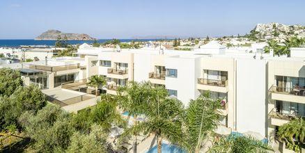 Hotell Summertime i Platanias på Kreta, Grekland.