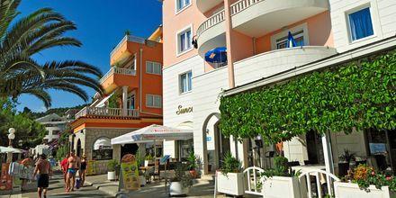 Snackbaren på hotell Sunce i Podgora på Makarska Rivieran.