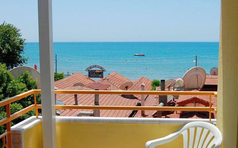 Hotell Sunflower i Side, Turkiet.