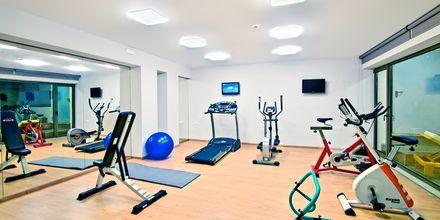 Gym på Swell Boutique Hotel, Rethymnon, Kreta.