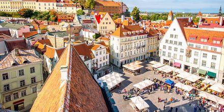 Marknad i gamla stan, Tallinn.
