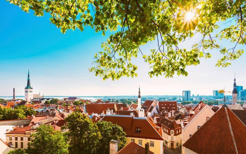 Välkommen till Tallinn, Estland!