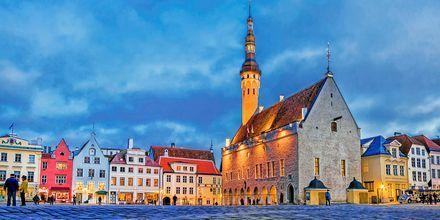 Rådhustorget i Gamla stan, Tallinn.