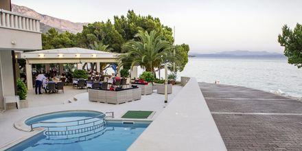 Hotell Tamaris i Tucepi på Makarska rivieran i Kroatien.