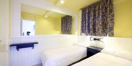 Tvårumslägenhet på hotell Teneguia i Puerto de la Cruz, Teneriffa.