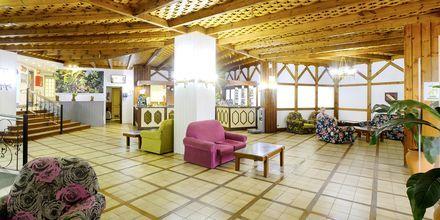 Lobbyn på hotell Teneguia i Puerto de la Cruz, Teneriffa.