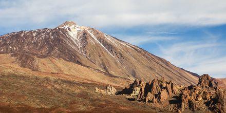 Teide på Teneriffa är Spaniens högsta berg.