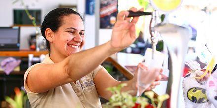 Njut av god mat och dryck under semestern på Teneriffa.