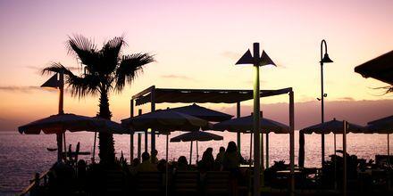 Kväll i Los Gigantes & Playa de la Arena på Teneriffa.