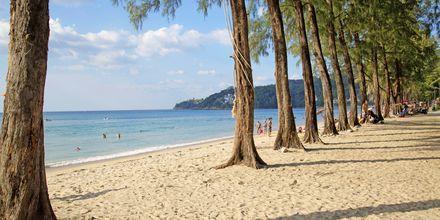 Kamala Beach på Phuket, Thailand.