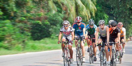 Triathlon i Thalang på Phuket.
