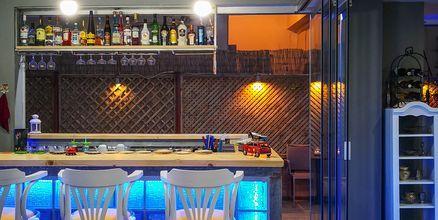 Bar på hotell Thalia i Hersonissos, Grekland.