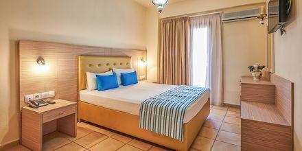 Dubbelrum på hotell Thalia i Hersonissos, Grekland.