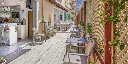 Restaurang på hotell Thalia i Hersonissos på Kreta.