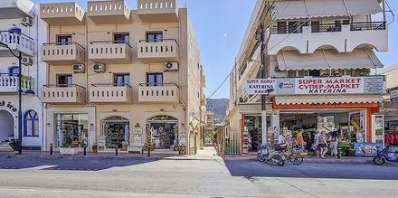 Hotell Thalia i Hersonissos på Kreta.