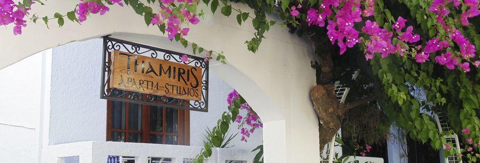 Hotell Thamiris i Kalives, Kreta.