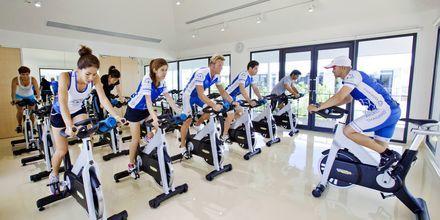 Träningsklasser på Thanyapura Sport & Health Resort i Thalang på Phuket.