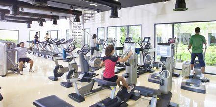 Gymmet på Thanyapura Sport & Health Resort i Thalang på Phuket.