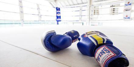 Boxning på Thanyapura Sport & Health Resort i Thalang på Phuket.