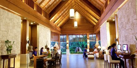 Lobbyn på Thanyapura Sport & Health Resort i Thalang på Phuket.