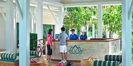 Aktivitetsdisken på Thanyapura Sport & Health Resort i Thalang på Phuket.