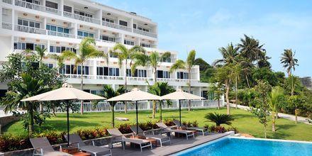 Pool på The Cliff Resort i Phan Thiet, Vietnam.