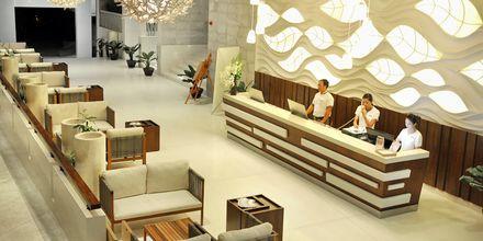 Lobbyn på The Cliff Resort i Phan Thiet, Vietnam.