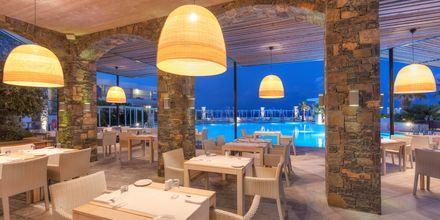 Lunchrestaurangen The Stone på The Island på Kreta, Grekland.