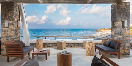 The Yachting Bar på The Island på Kreta, Grekland.