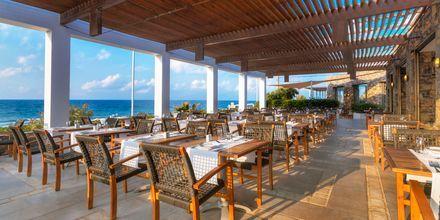 Huvudrestaurangen på The Island på Kreta, Grekland.