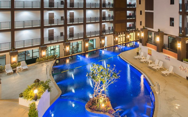 Hotell The Lai Thai i Ao Nang, Krabi.
