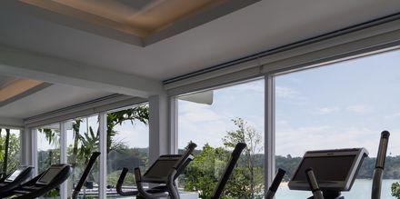 Gymmet på hotell The Nai Harn Phuket, Thailand.