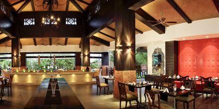 Restaurang på The O Hotel Goa, Indien.