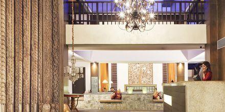 Reception på The O Hotel Goa, Indien.