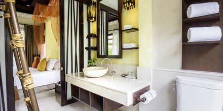 Dubbelrum i bungalow på The Passage Samui Villas & Resort, Thailand.