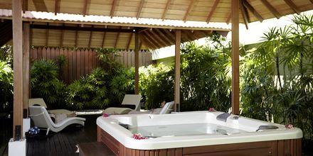 Spa på hotell The Surf i Bentota, Sri Lanka.