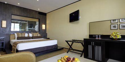 Deluxerum på hotell The Surf i Bentota, Sri Lanka.