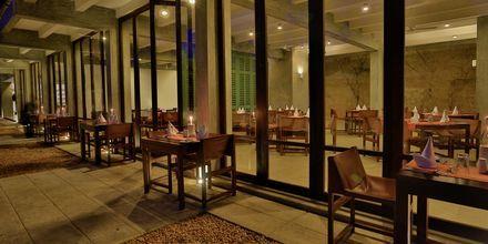 Restaurangen på hotell The Temple Tree i Bentota på Sri Lanka.