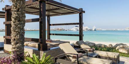 Stranden vid The Westin Dubai Mina Seyahi i Dubai, Förenade Arabemiraten.