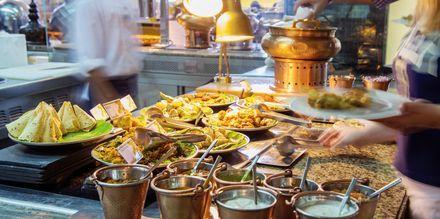 Brunch på restaurang Bubbalicious på The Westin Dubai Mina Seyahi.