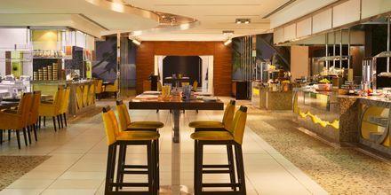 Restaurang Blue Orange på The Westin Dubai Mina Seyahi.