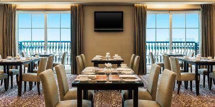 Club Lounge på hotell The Westin Dubai Mina Seyahi i Dubai, Förenade Arabemiraten.