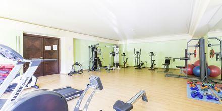 Gym på hotell Theartemis Palace på Kreta, Grekland.