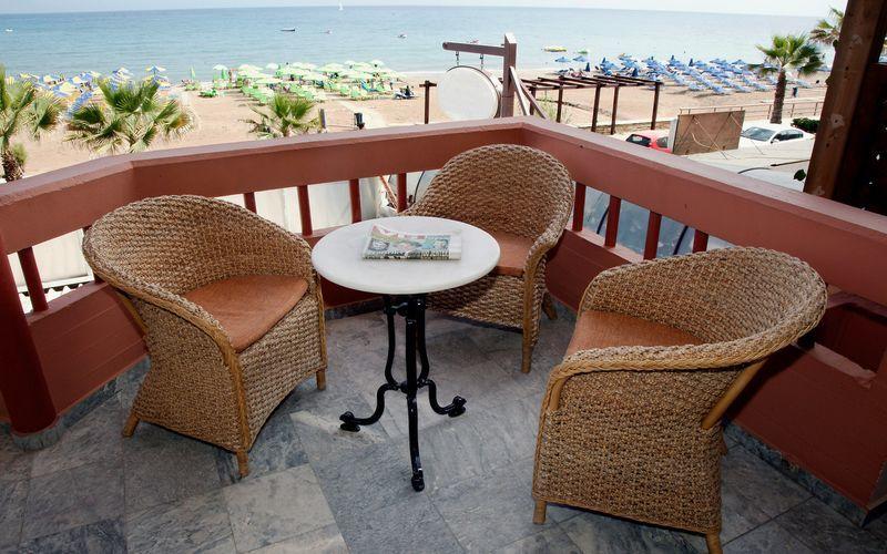 Hotell Theo i Rethymnon, Kreta.