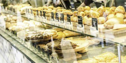 Bageri i Thessaloniki, Grekland.