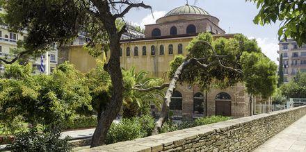 St. Sophia kyrkan i Thessaloniki, Grekland.