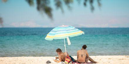 Semestern i Tigaki och Marmari tillbringas bäst på stranden.