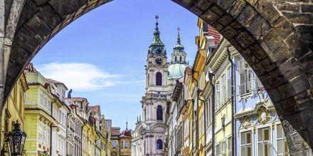 Prag i Tjeckien.